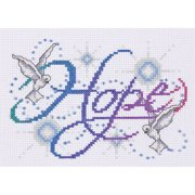 Tobin Design Works Counted Cross-Stitch Kit, Hope