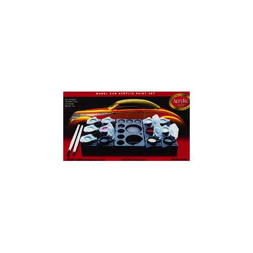 9185 Acrylic Model Car Value Paint Set Multi-Colored by Testors