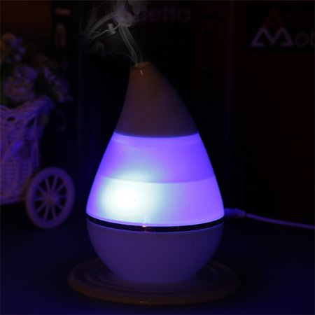 Ultrasound USB Air Humidifier Purifier 7 Colors Changing LED Aroma Atomizer Air Purifiers Humidifiers