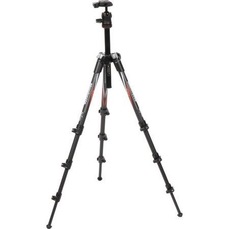 Manfrotto MKBFRC4-BH Befree Compact Travel Carbon Fiber (Best Budget Carbon Fiber Tripod)