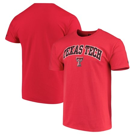 Texas Tech Red Raiders Russell Crew Core Print T-Shirt - Red (Texas Tech 2017 Halloween)