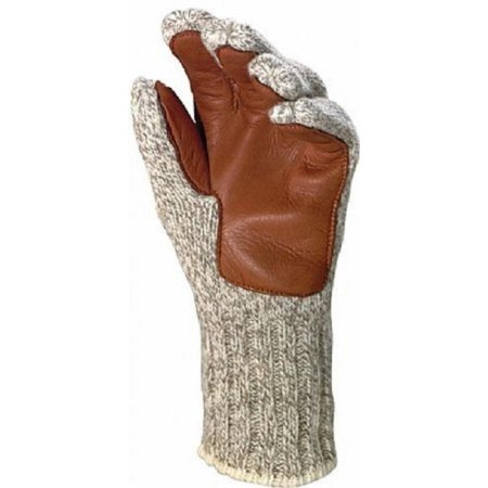 Fox Bomber Gloves - Fox River Four Layer Glove, Small, Brown Tweed