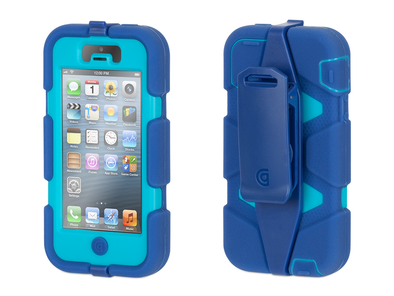 Griffin Iphone 5 5s Se Rugged Case Survivor All Terrain Belt Clip Impact Resistant Military Duty Com