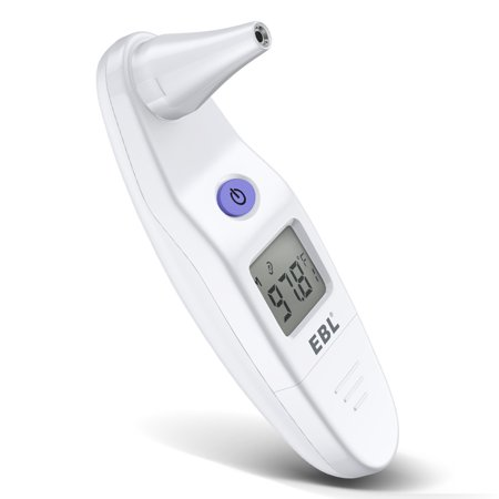 EBL Digital IR Infrared Ear Thermometer Baby Kids Adult Fever Temperature Meter ()