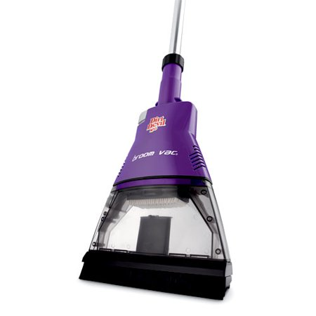 Dirt Devil Broom Vacuum Plum