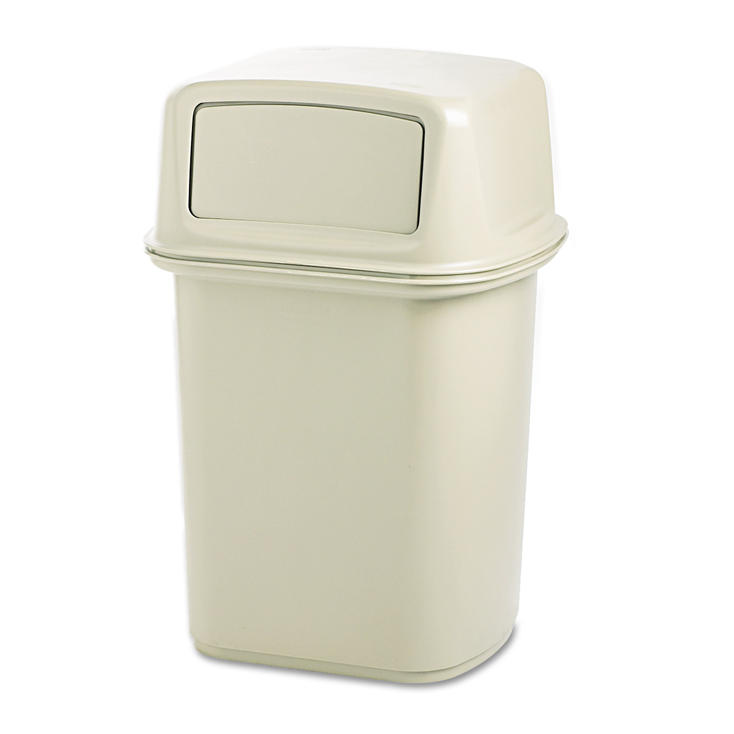 Rubbermaid Commercial Ranger Fire-Safe Container, Square