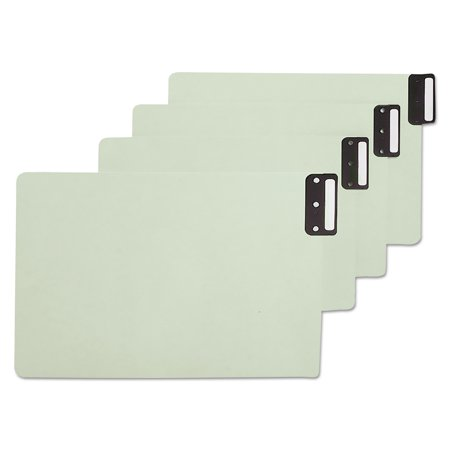 (Smead End Tab Guides, Blank, Vertical Metal Tabs, Pressboard, Legal, 50/Box -SMD63235)