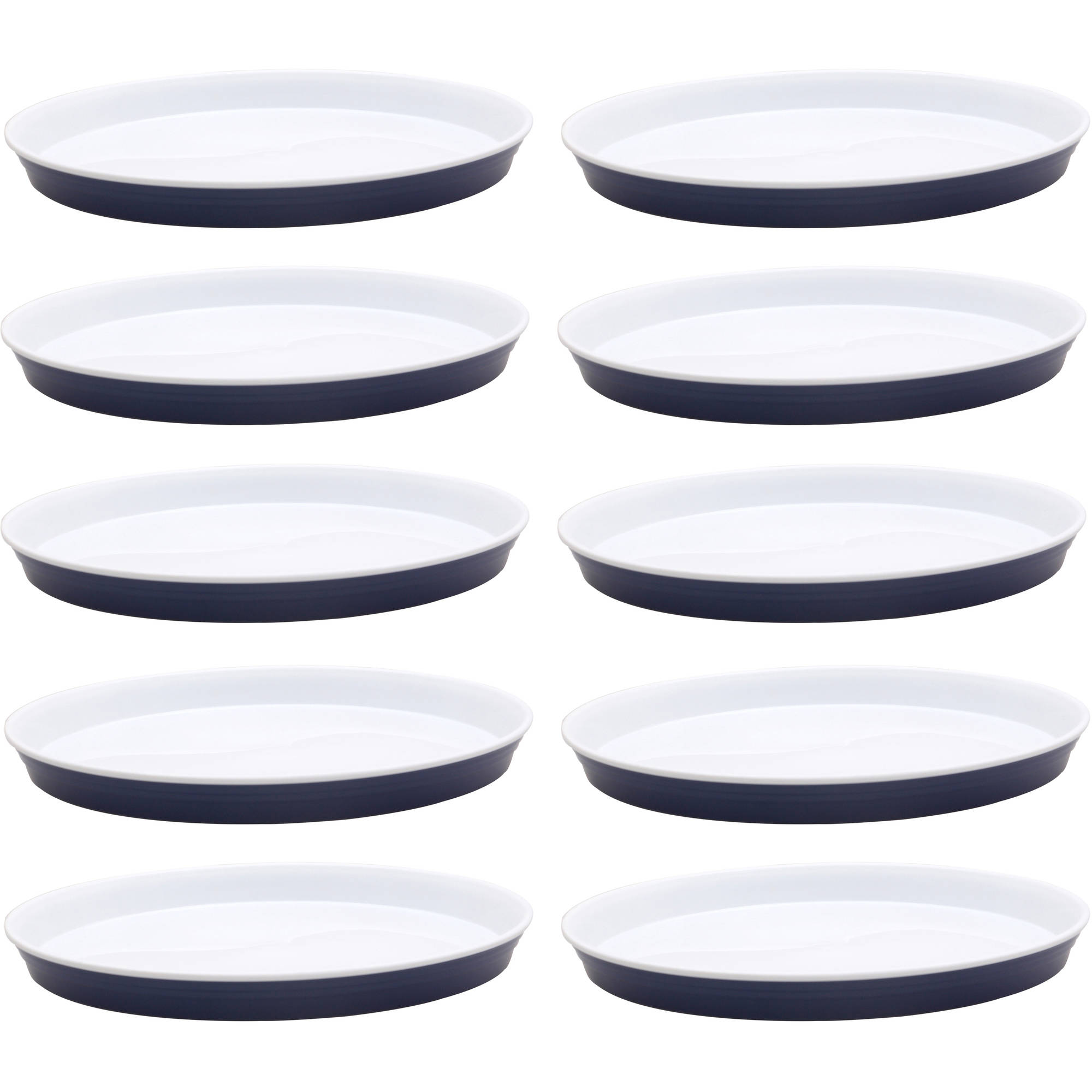 Better Homes and Garden Party Plates 10-Pack, Blue