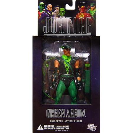 - DC Alex Ross Justice League Series 5 Green Arrow Action Figure