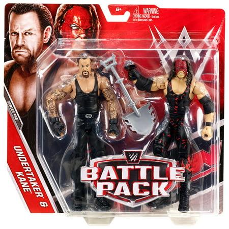 WWE Kane & Undertaker Figures - Undertaker Toys