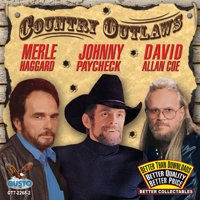Haggard/Paycheck/Coe - Country Outlaws [CD]