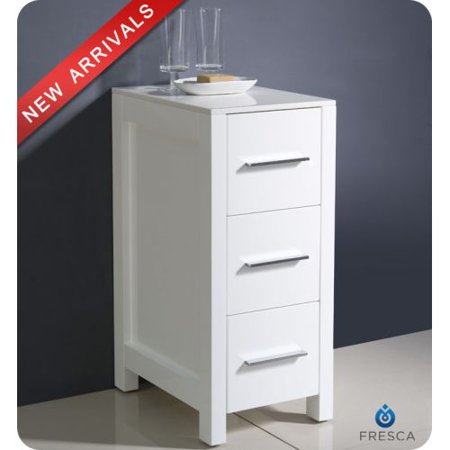 Fresca Fst Freestanding Bathroom Linen Cabinet Photo