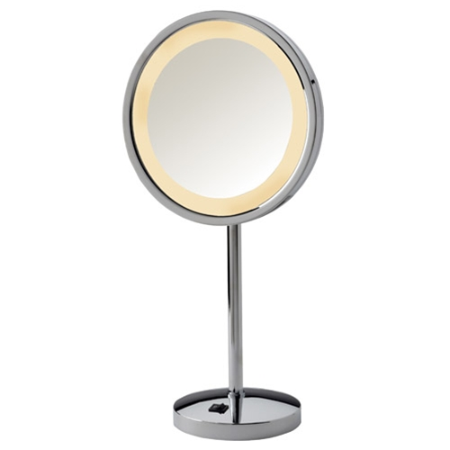 Jerdon 5X LED Halo Lighted Vanity Mirror by Jerdon Products