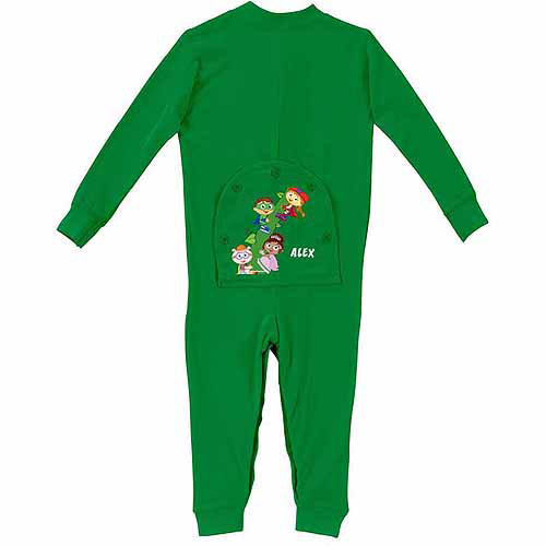 Personalized Super Why! Super Readers Toddler Green Playwear
