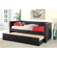 Furniture of America Marlie Contemporary Daybed with Trundle, Multiple Colors