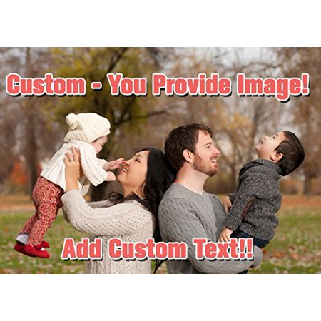 Custom Create Your Own Cake Image - Cake Personalized Cake Toppers Edible Frosting Photo Icing Sugar Paper A4 Sheet 1/4 CTZ1](Sugar Sheets)