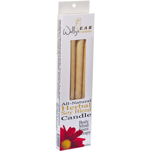 Wally's Natural Products - Herbal Paraffin Ear Candle - 4 Pack(s) ( Multi-Pack)