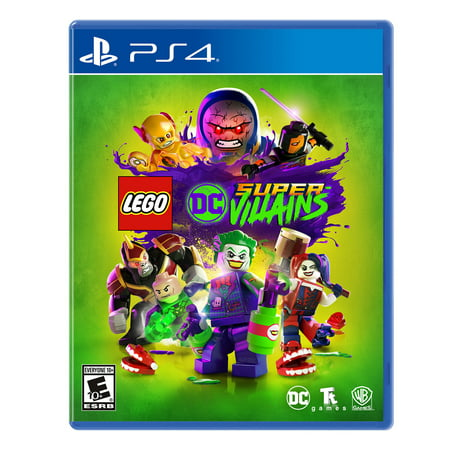 LEGO DC Super-Villains, Warner Bros., PlayStation 4, 883929648276