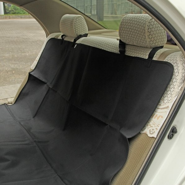 Waterproof Auto Seat Protector Dog Seat Cover Black