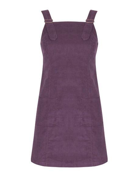 Women Corduroy Straight Suspender Mini Bib Overall Pocket Dresses