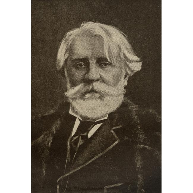 Posterazzi DPI1857705LARGE Ivan Sergeyevich Turgenev 1818-1883 Russian Writer From The Book Poster Print, Large - 24 x 36 - image 1 de 1