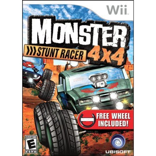 Monster 4X4 Stunt Racer With Wheel WII