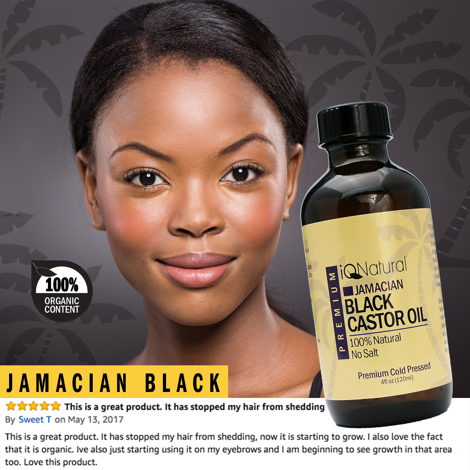 Iq Naturals 100 Cold Pressed Jamaican Black Castor Oil For Hair