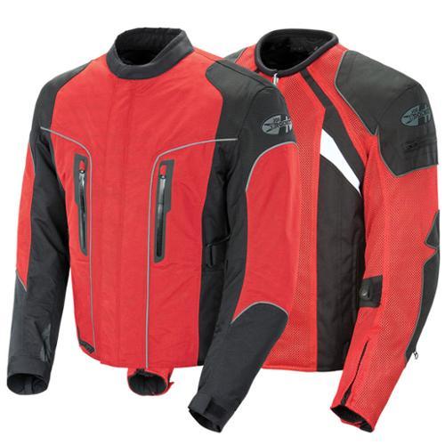 Joe Rocket Alter Ego 3.0 Textile Jacket Red/Black MD