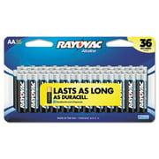 Ray-O-Vac 81536CF2 Peggable Large Card Alkaline Batteries - AA