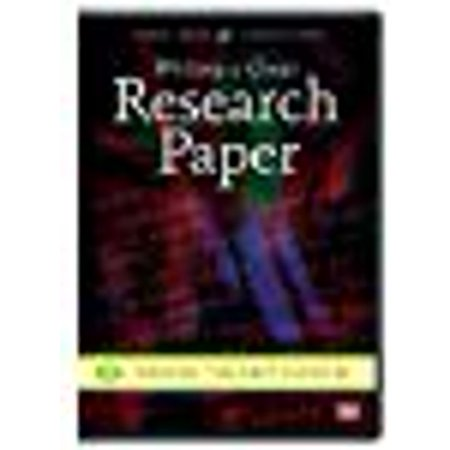 WRITING A GREAT RESEARCH PAPER: FINDING THE BEST