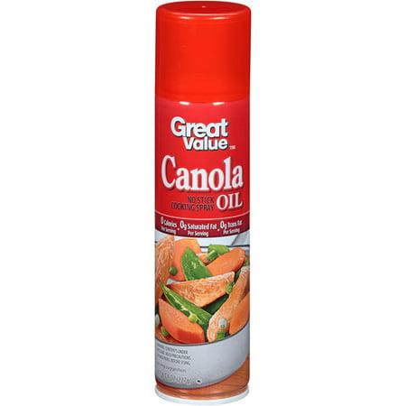 Can You Spray Canola Oil On Food