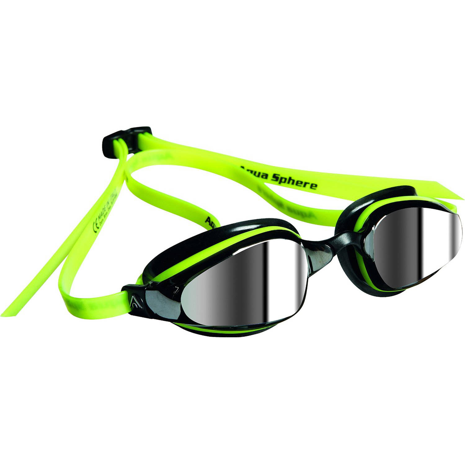 K180 Goggles, Mirrored Lens, Yellow/Black