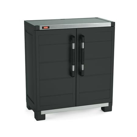 Keter Xl Pro Storage Base Cabinet Walmart Com