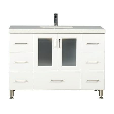 Bathroom Vanity Counter - Design Element Westfield 48