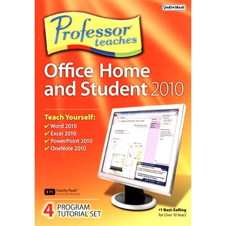 Professor Teaches Office Home and Student 2010 Promo Code