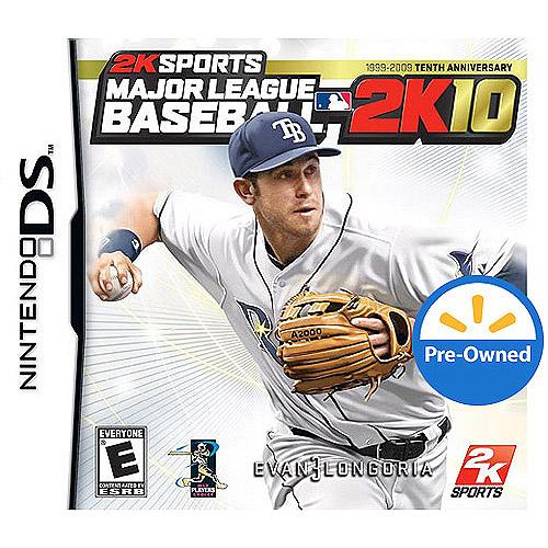 Major League Baseball 2K10 (DS) - Pre-Owned
