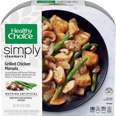 Healthy Choice Simply Steamers Frozen Dinner Grilled Chicken