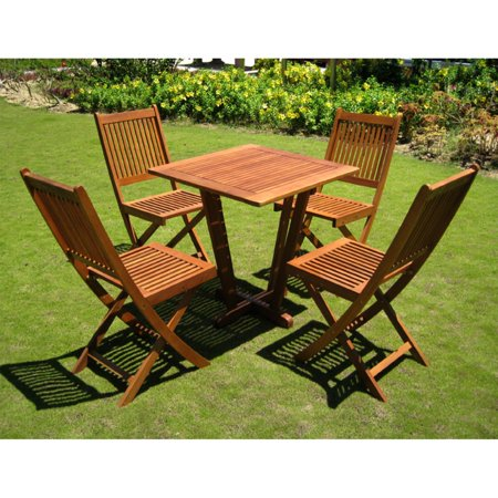 International Caravan Royal Tahiti Pyramid 28 X In Outdoor Patio Table
