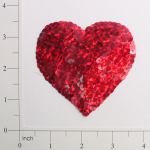 Expo Int'l Prism Heart Sequin Applique