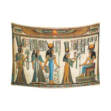 - PHFZK African Design Wall Art Home Decor, Egyptian Queen Ancient Tapestry Wall Hanging 80 X 60 Inches