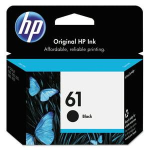 HP 61 Original Ink Cartridge, 1 Each (Quantity)