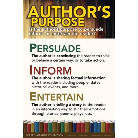 Author's Purpose Poster Wall Art By Gerard Aflague Collection - Author's Purpose Halloween