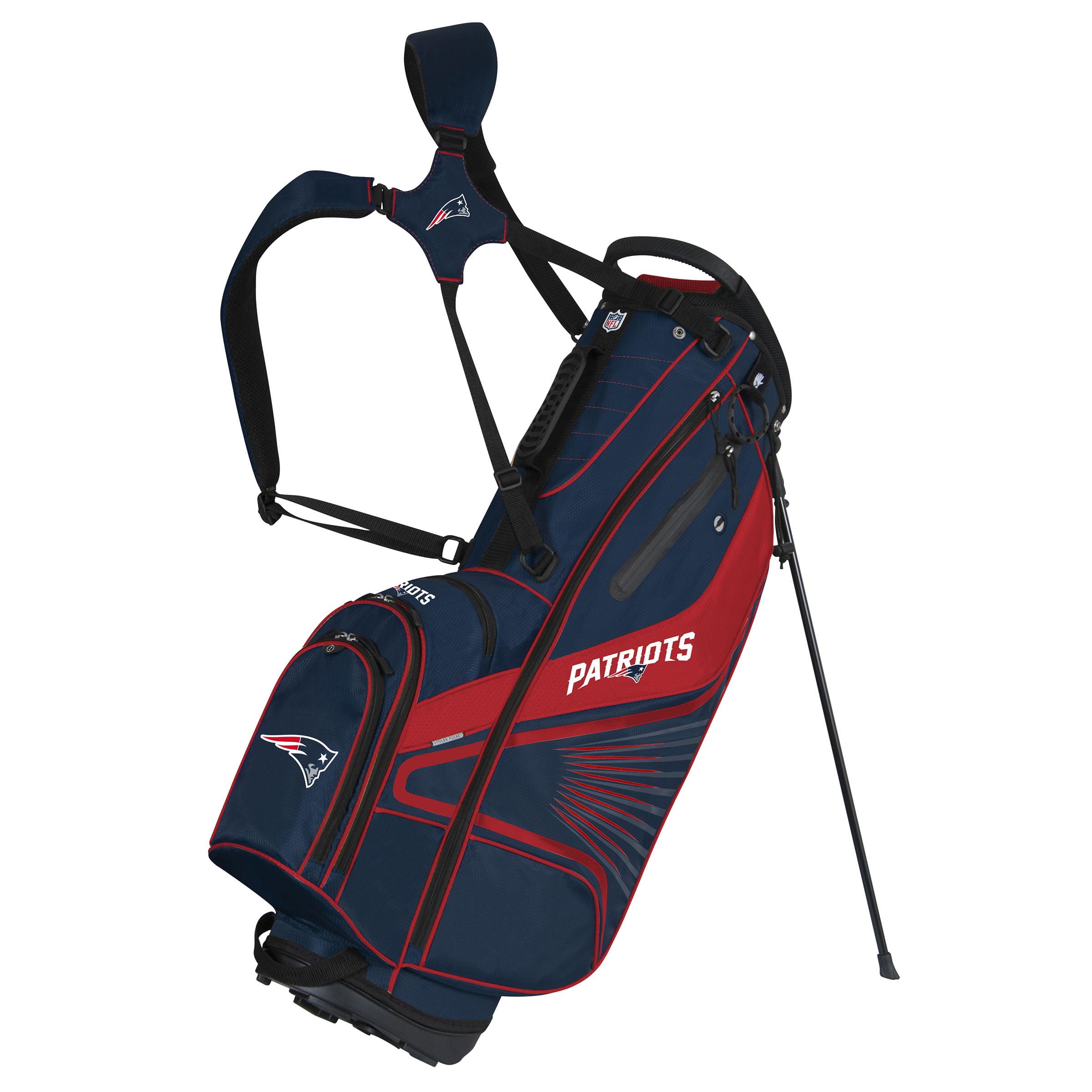 New England Patriots Gridiron III Stand Bag - No Size
