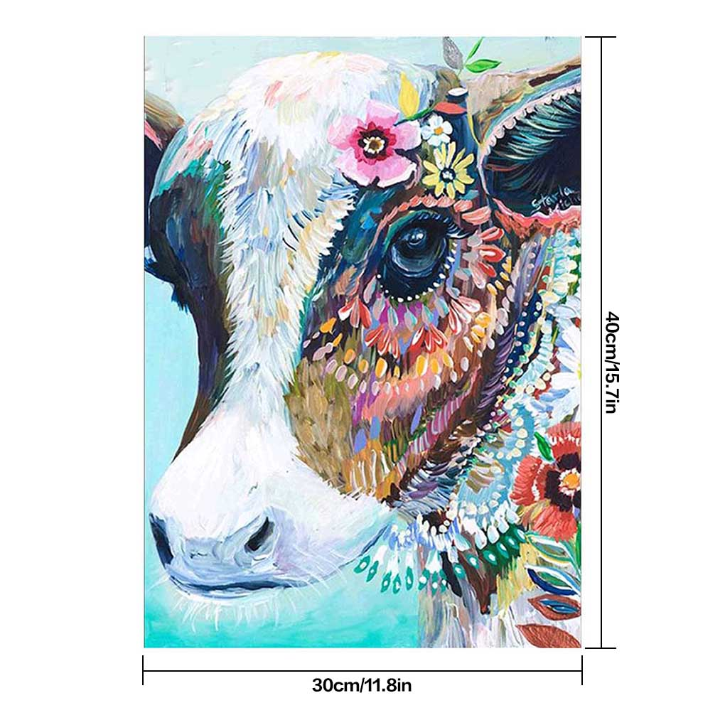 DIY Crystal Diamond Painting Animals Embroidery Cross Stitch Kit Decoration Gift
