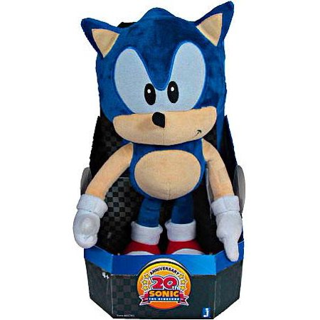 Sonic The Hedgehog 20th Anniversary Sonic Plush [Classic]