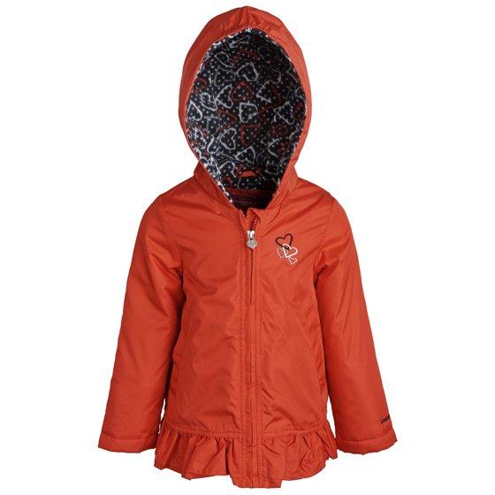7337946787be London Fog - London Fog Little Girls Fleece Lined Windbreaker Jacket ...