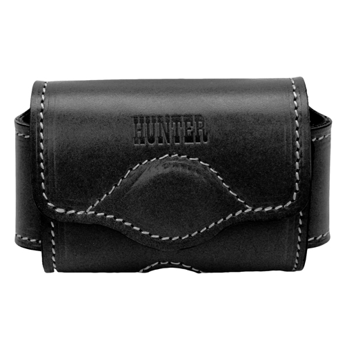 Hunter Company Adjustable Cell Phone Holster Leather Blk