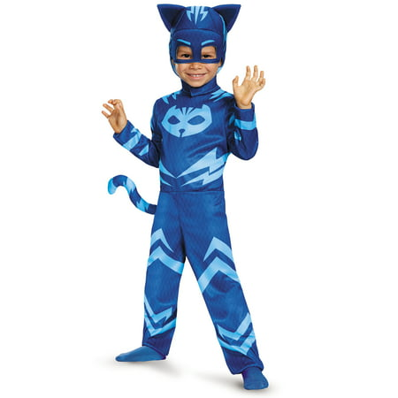 PJ Masks Catboy Classic Toddler Halloween Costume](Toddler Fireman Costumes)