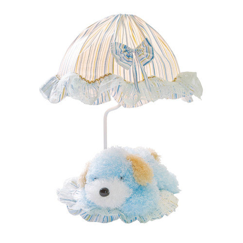 Lite Source Puppy Children's 18'' H Table Lamp with Cone Shade