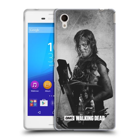 OFFICIAL AMC THE WALKING DEAD DOUBLE EXPOSURE SOFT GEL CASE FOR SONY PHONES 2